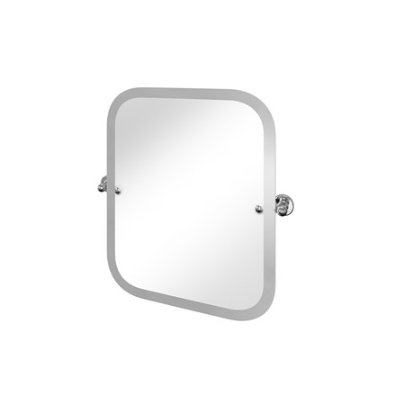 Arcade Rectangular Swivel Mirror with Curved Corners ...